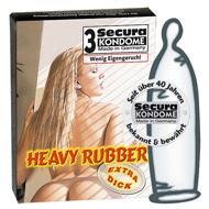 "Kondome ""Heavy Rubber"", extra dick"