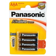 "Batterien ""Panasonic Alkaline Power Micro"", AAA, 4er"