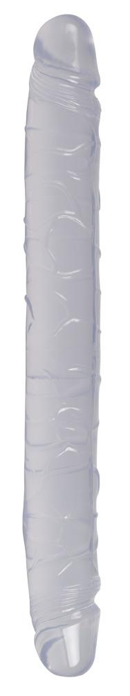 "Image of Doppeldildo ""Crystal-Duo"", 34 cm im Kristall-Look"