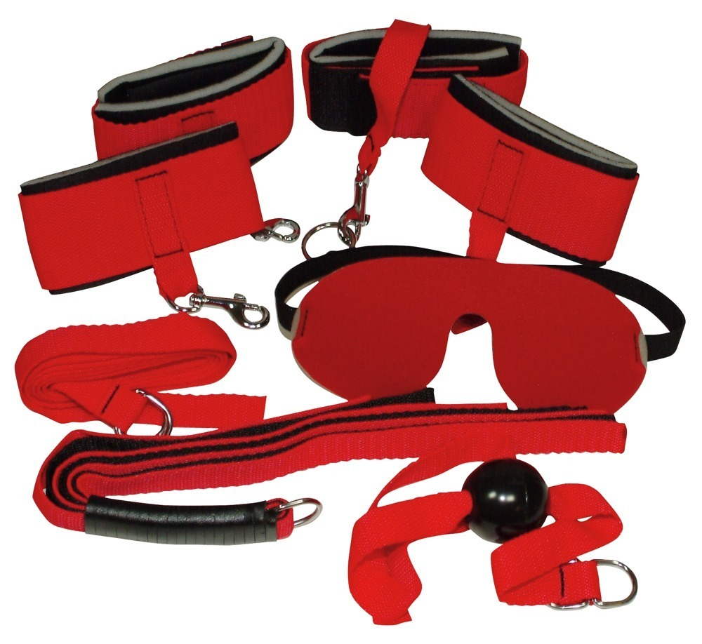 "Image of 4-teiliges Fesselset ""Bondage Set´´"