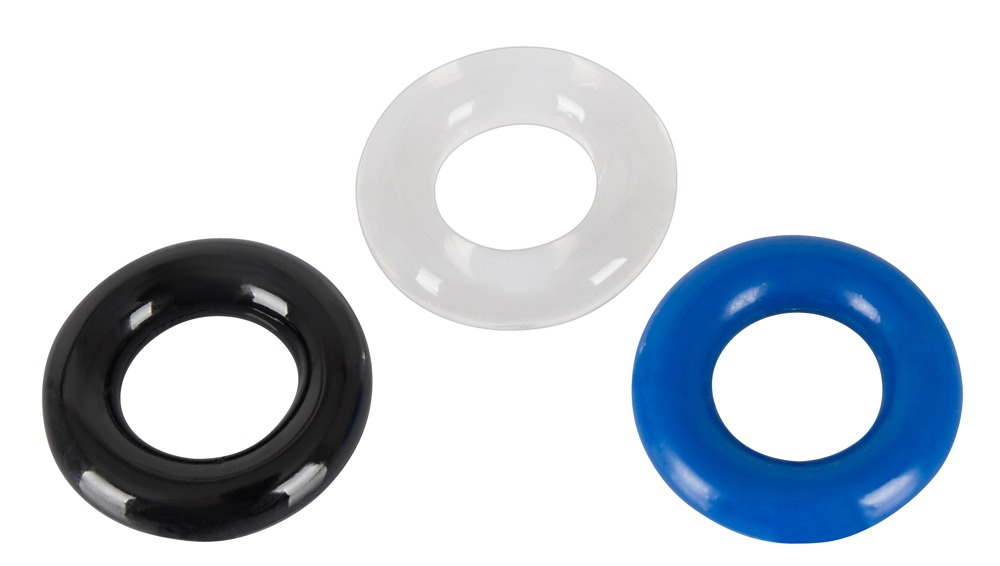 Image of 3-teiliges Penisring-Set, in Kombination tragbar