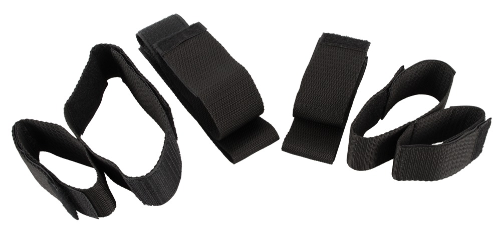 "Image of 4-teiliges Fessel-Set ""Bad Kitty Arm & Leg Restraints"" mit Klettverschluss"