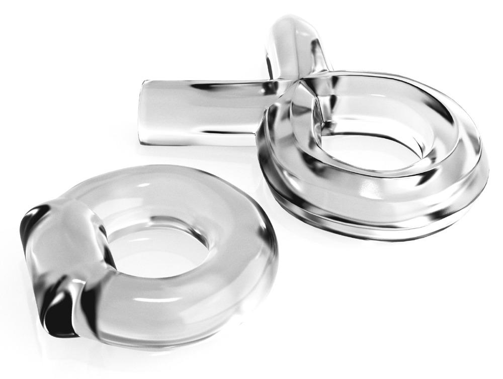 """Image of 2-teiliges Penisring-Set """"Couples Cock Ring Set"""", in verschieden Formen"""