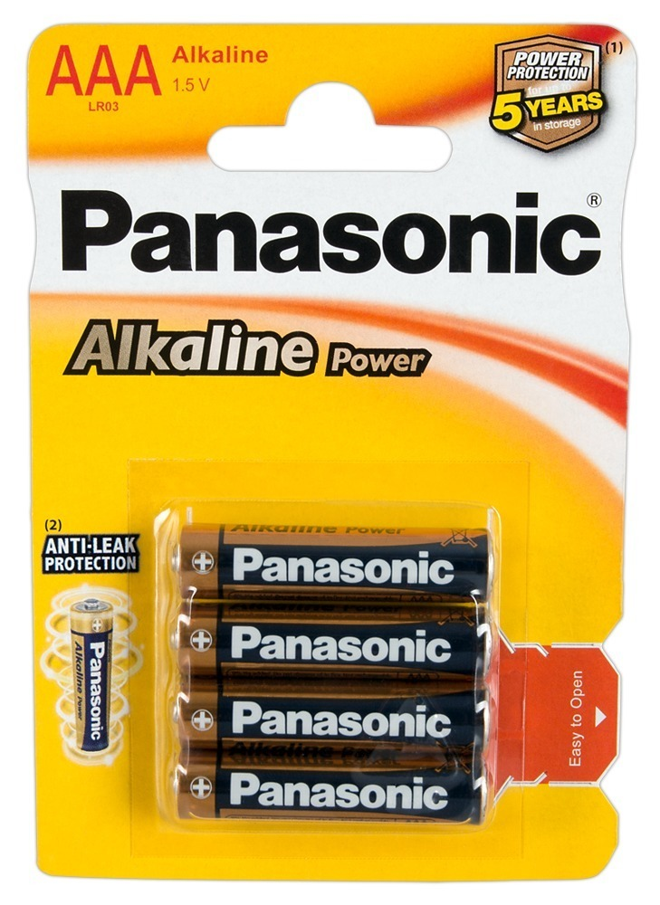 "Image of Batterien ""Panasonic Alkaline Power Micro´´, AAA, 4er"
