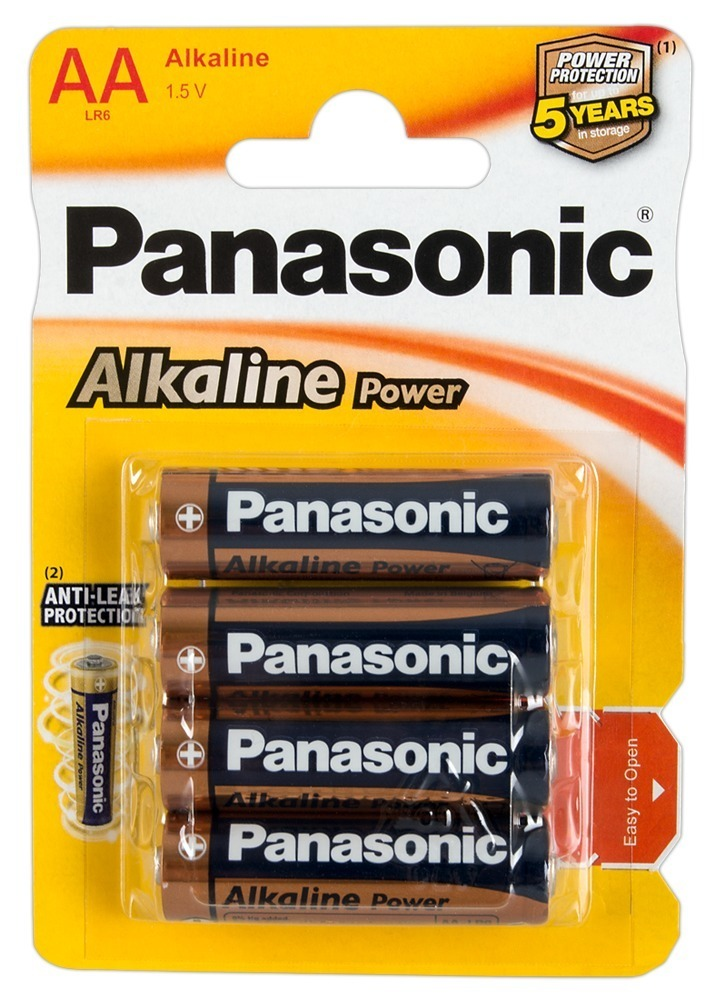 "Image of Batterien ""Panasonic Alkaline Power Mignon´´, AA, 4er"