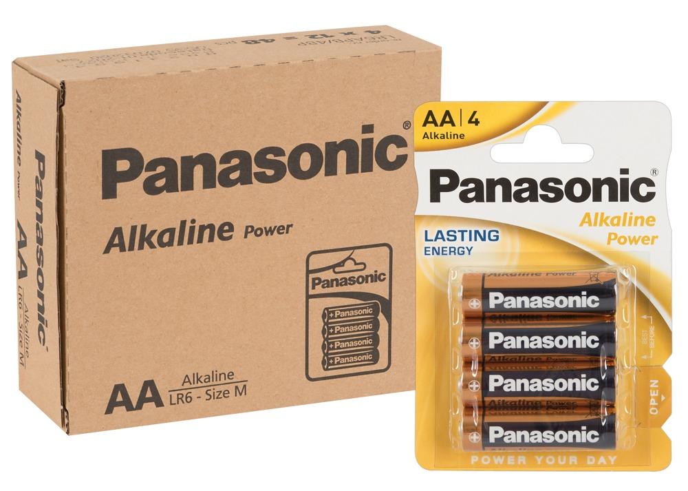 Image of 12 x 4er Batterie AA