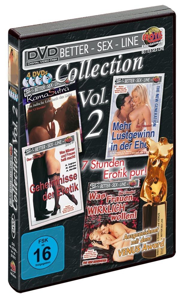 """Image of """"Better-Sex-Line Paket 2"""", 4 DVDs"""
