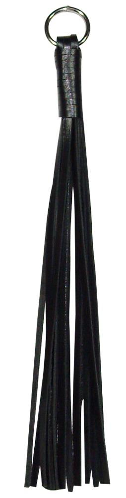 Image of Fingerpeitsche aus Leder, Gesamtlänge 25cm