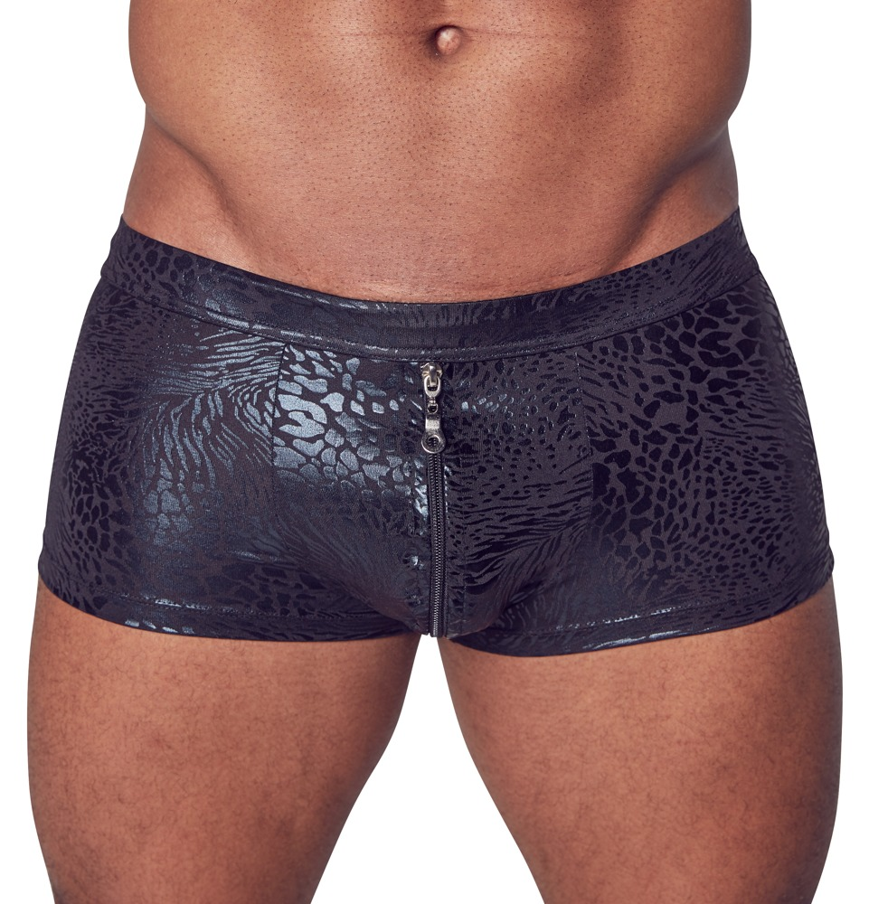 Image of Pants mit glänzendem Printmuster