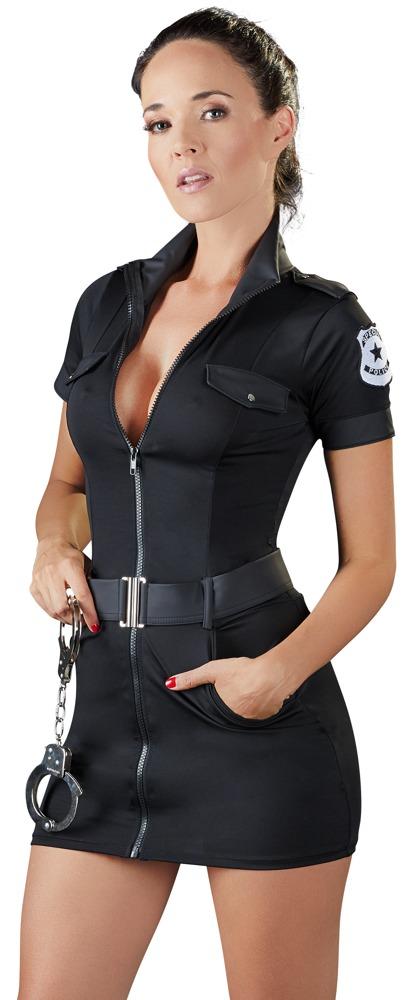 Image of Kleid im Polizistinnen-Look mit Gürtel