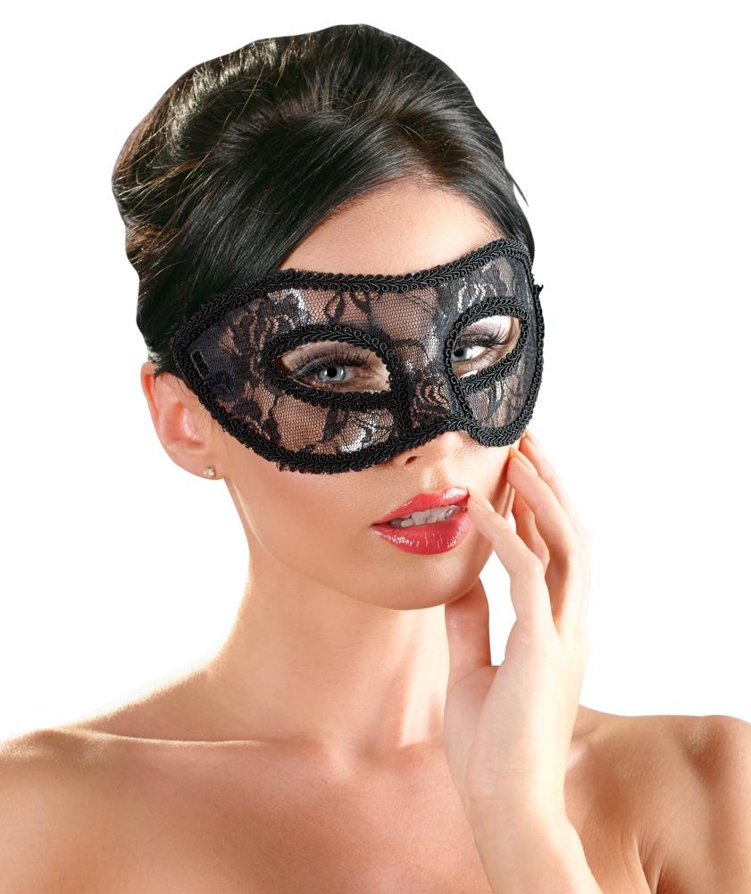 Image of Augenmaske mit Spitze überzogen