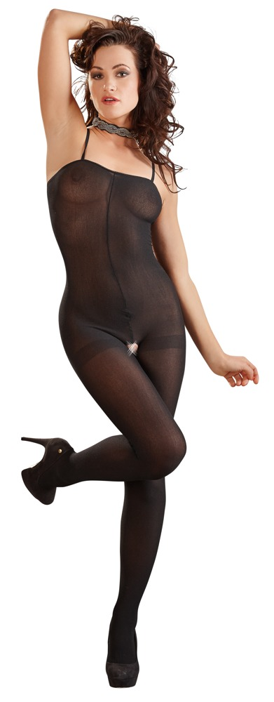 Image of Catsuit, ouvert, transparent