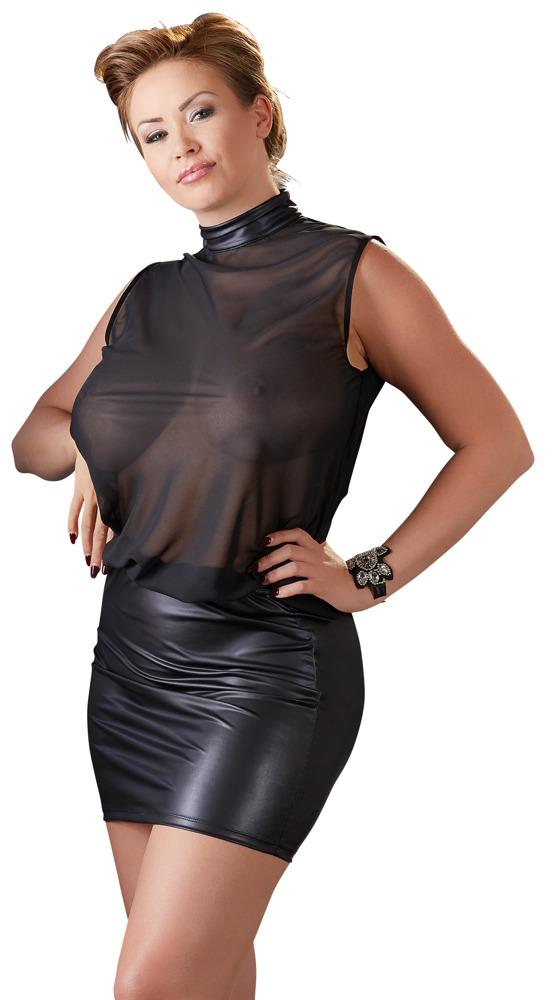 Image of Kleid mit Stehkragen