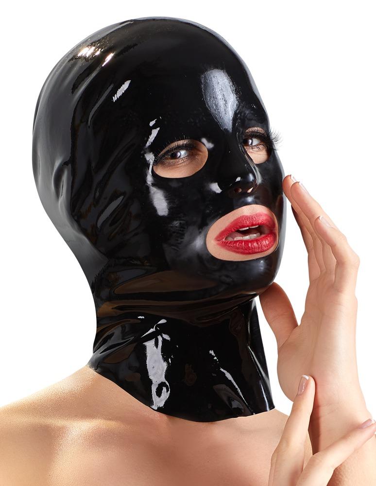 Image of Kopfmaske mit Augen-, Mund- und Nasenlöchern, Latex