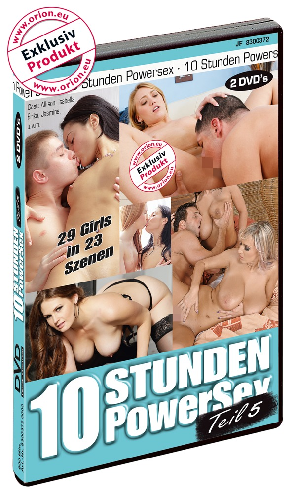 """Image of """"10 Stunden Powersex 5"""", 2 DVDs"""