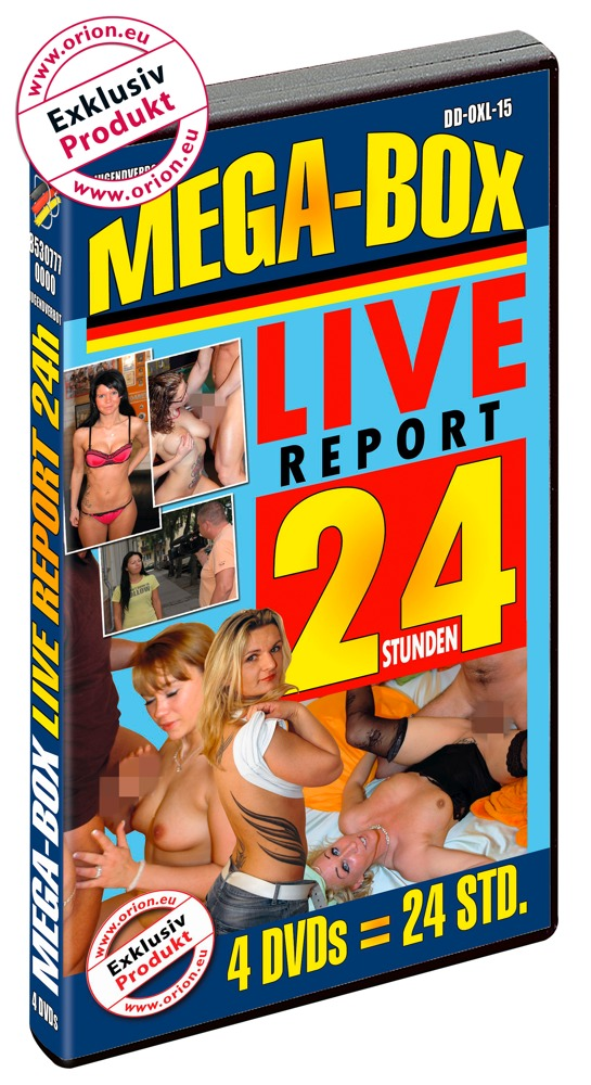 "Image of DVD-Mega-Box ""Live Report"""