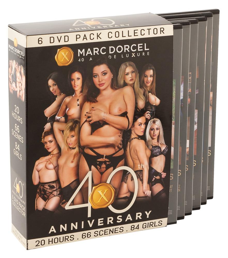 """Image of """"Marc Dorcel 40 Anniversary"""" 6 DVDs"""